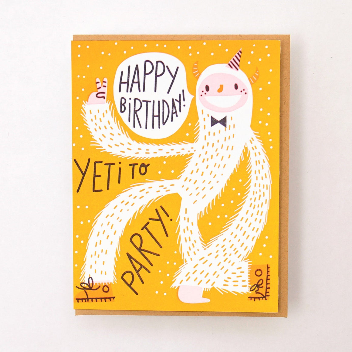 Yeti To Party Card