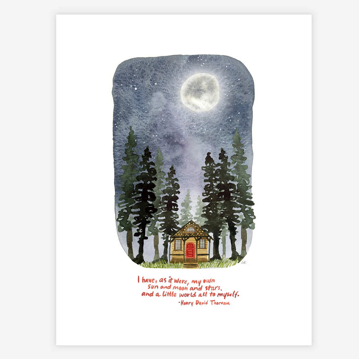 My Own Moon And Stars Print