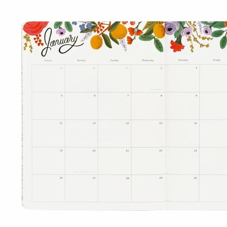 Wild Rose Monthly Agenda