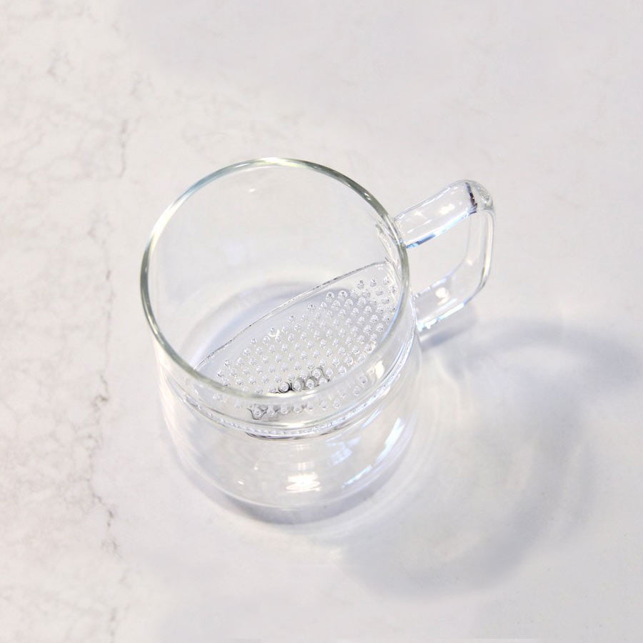 The Wall Glass Tea Mug
