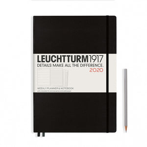 Weekly Planner + Notebook A4 (Large)