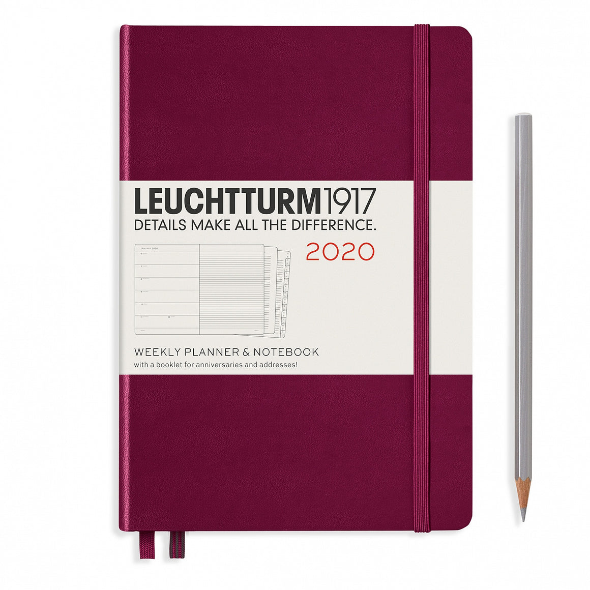 Weekly Planner + Notebook A5 (Medium)