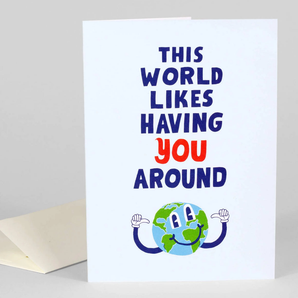 Likes Having You Around Card