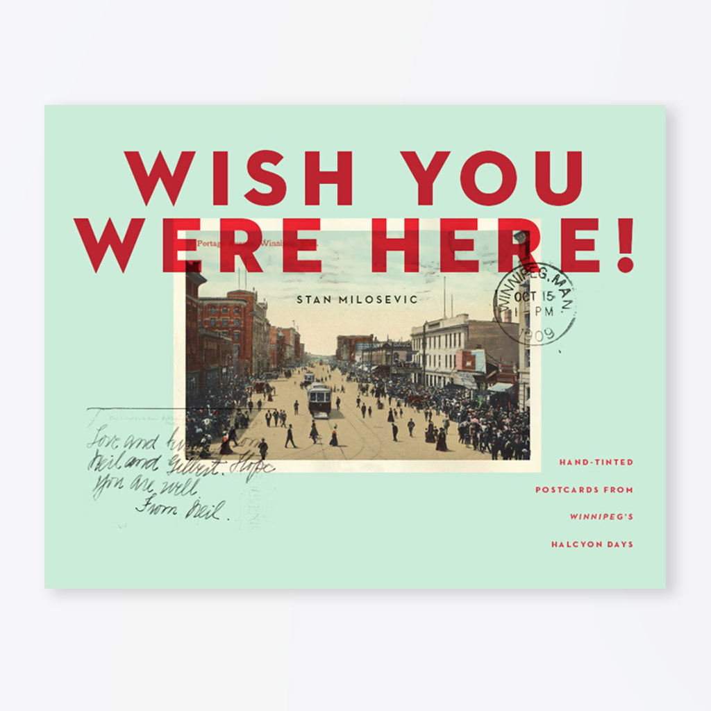 Wish You Were Here! Book