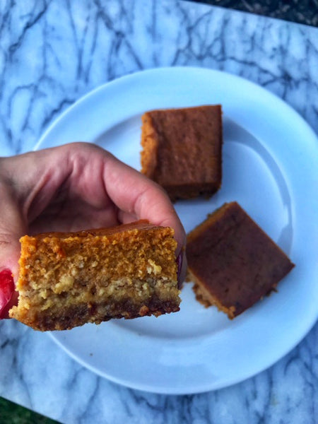 Paleo Pumpkin Pie Warrior Bars