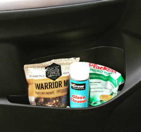 warrior mix in car