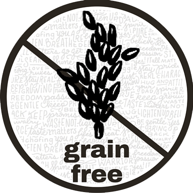 grain-free label