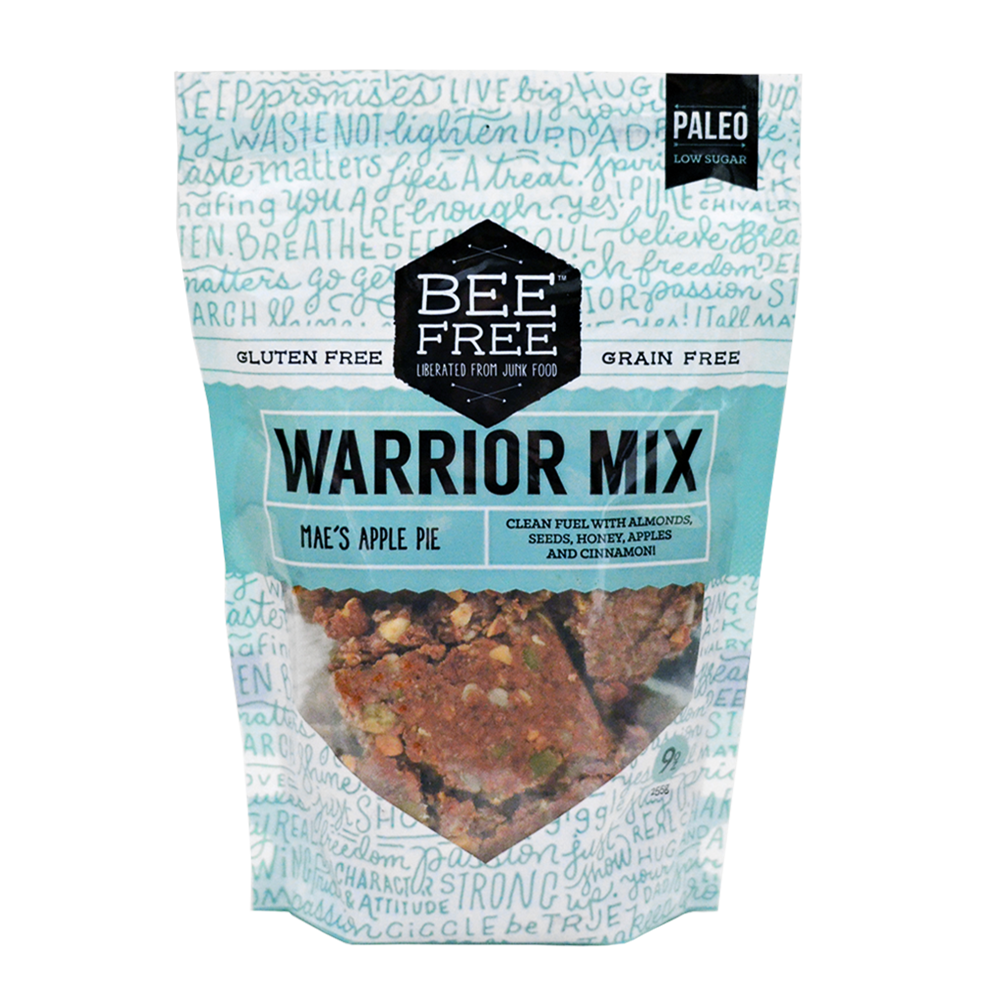 BeeFree Gluten-Free Bakery Mae's Apple Pie WARRIOR MIX 9oz