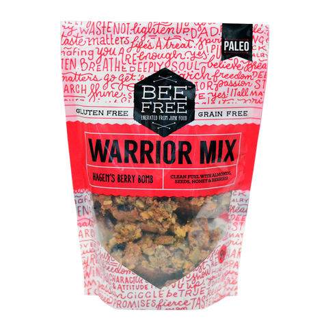 BeeFree Gluten-Free Bakery Hagen's Berry WARRIOR MIX (9oz)