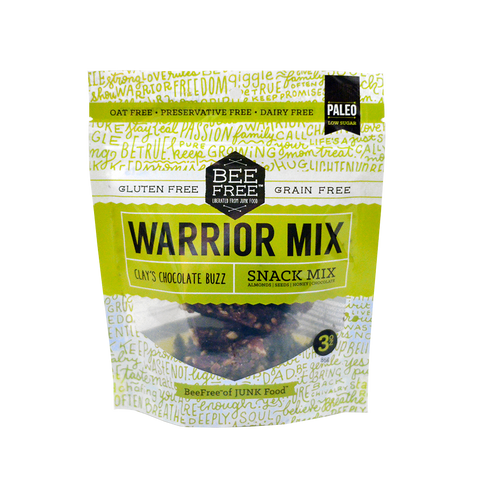 BeeFree Gluten-Free Bakery Clay's Chocolate Buzz WARRIOR MIX (3oz)