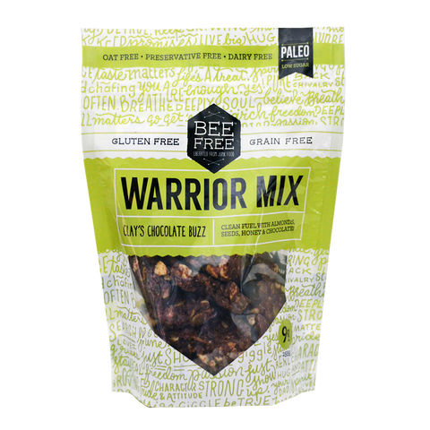 BeeFree Gluten-Free Bakery Clay's Chocolate Buzz WARRIOR MIX (9oz)
