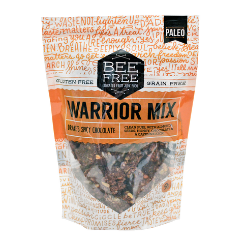 BeeFree Gluten-Free Bakery Drake's Spicy Chocolate WARRIOR MIX (9oz) ON SALE!!!