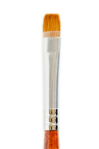 Flat Kolinsky Brush #10