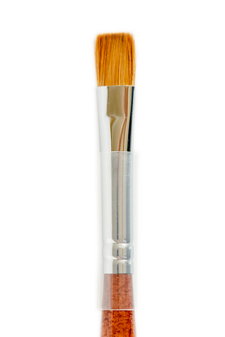 Flat Kolinsky Brush #12