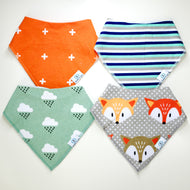 Bandana Bibs- Fox Pack