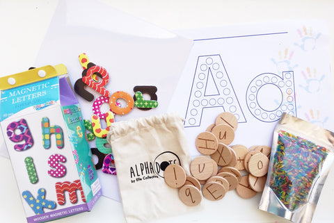 Little Letters Pack with Alpha Dots