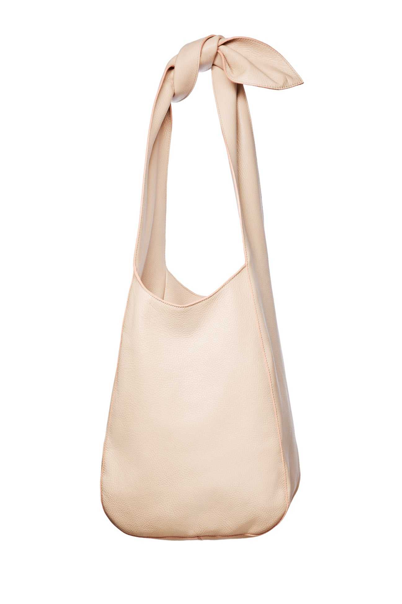 The Donna Hobo Bag in Nude