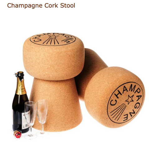 Champagne Cork Stool