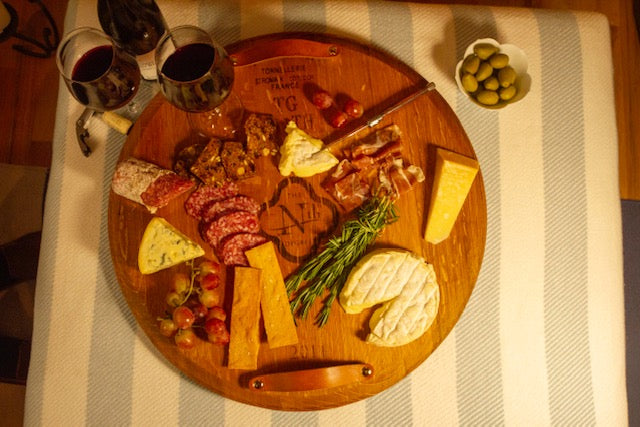 Provence Platter with Lazy Susan