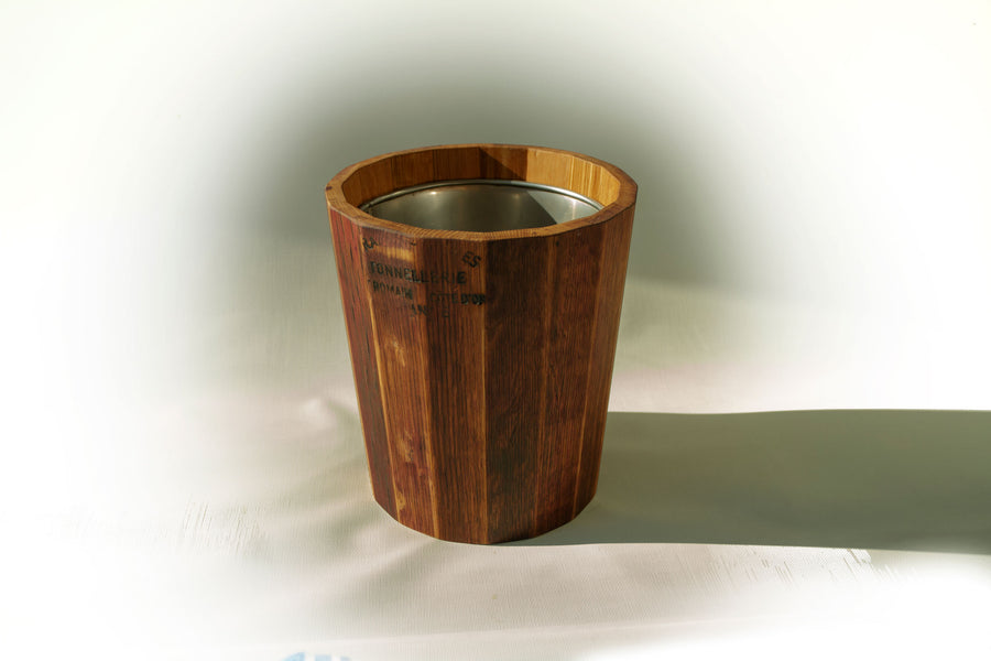 provence platter french oak champagne/wine ice bucket