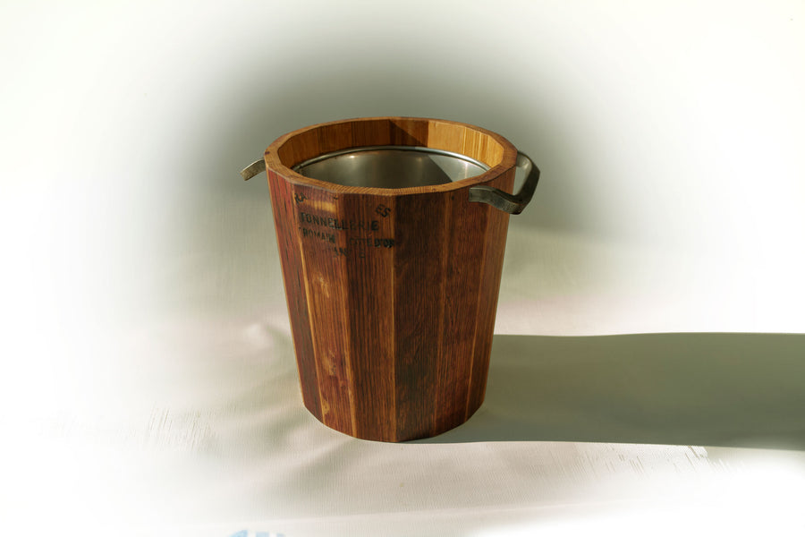 Provence Platters French oak ice bucket