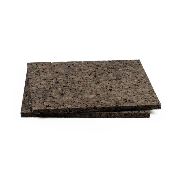 "Brown Cork Sheets - 12"" Square"