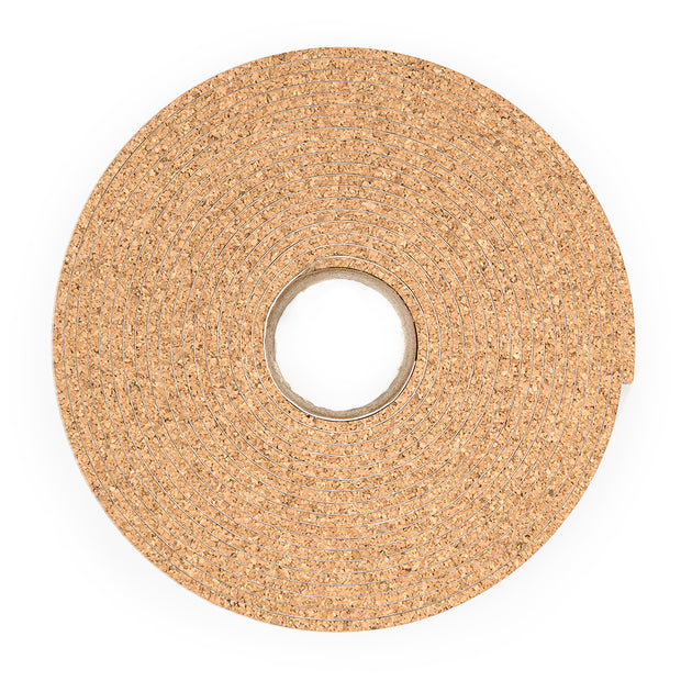"Cork Stripping - 20' Long x 1/8"" Thick, Adhesive"