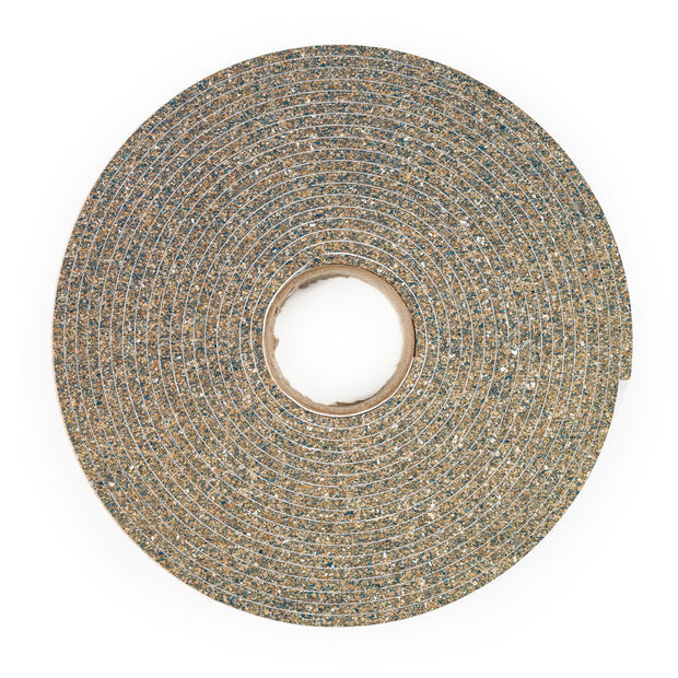 "1/8"" Thick Cork and Rubber Stripping - Adhesive"
