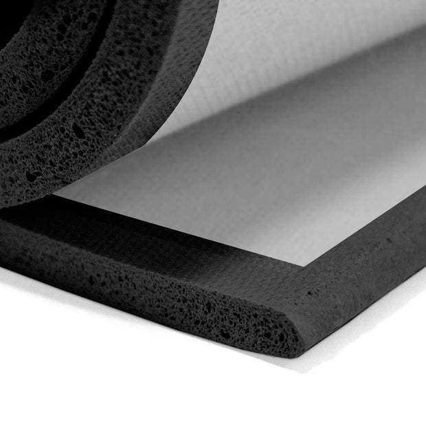 Open Cell Sponge Rubber Sheets (R012) - Adhesive