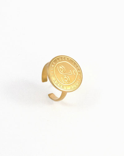 Anillo Lucky Coin - SLOW republic