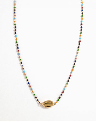 Collar Colorful Sea Snail - SLOW republic