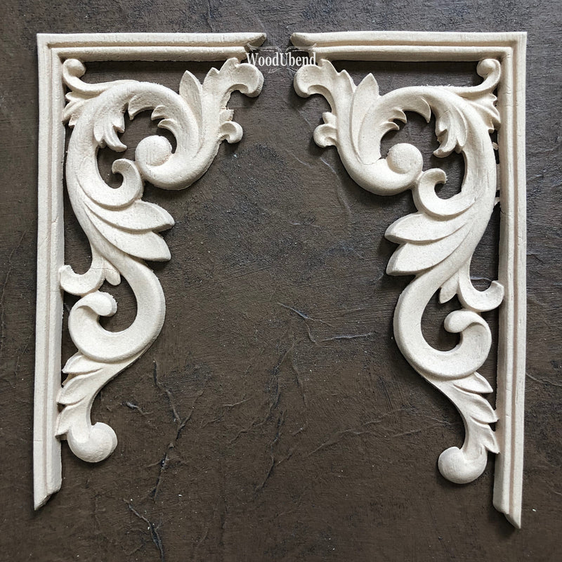 Corner/Corbel Applique (Set of 2) #2160 - JJ Bean Designs