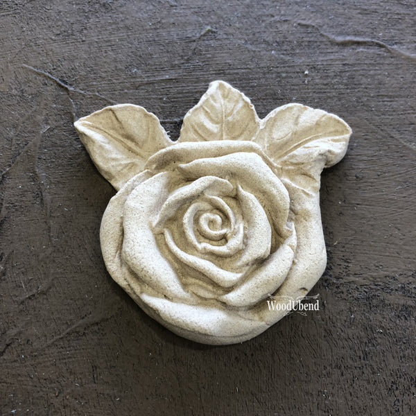 Rose w/Leaves #465 - JJ Bean Designs