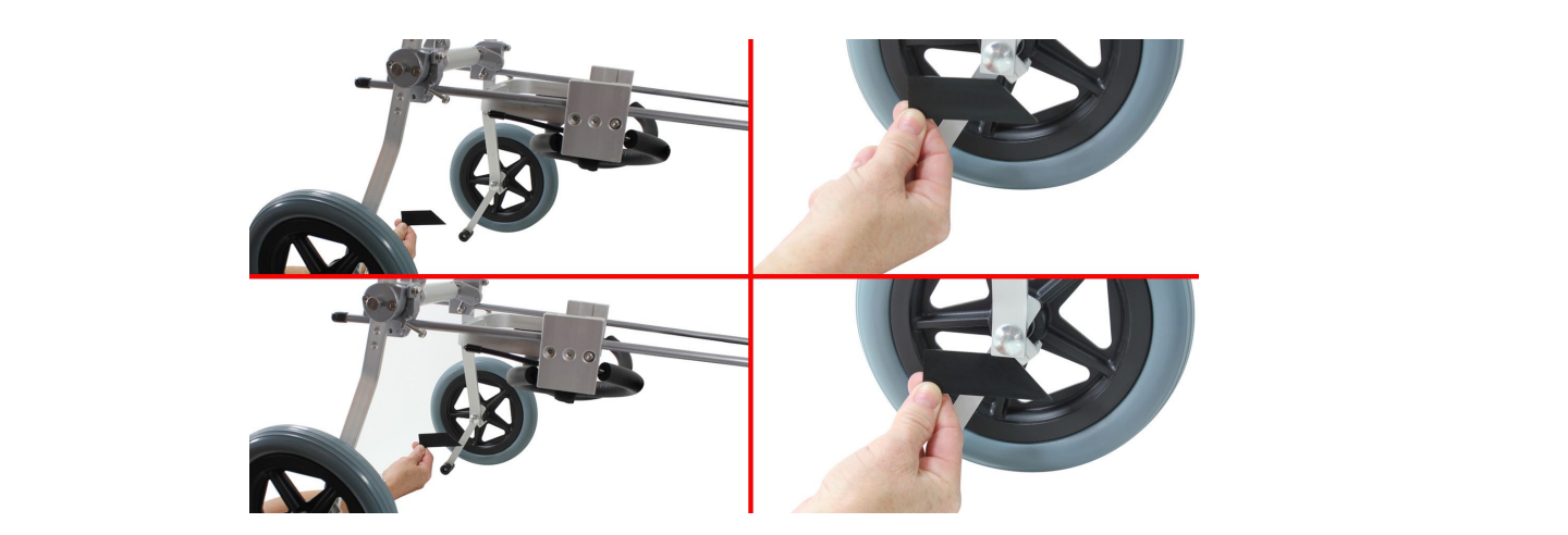Sitgo L-bracket and the Rubber Stopper bar