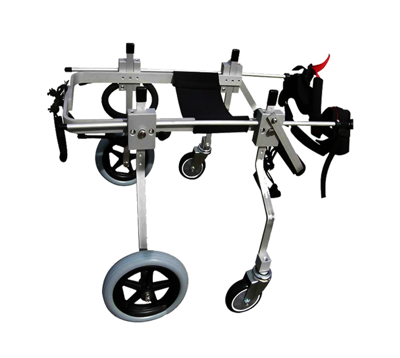 XS Full Support Dog Wheelchair Side View