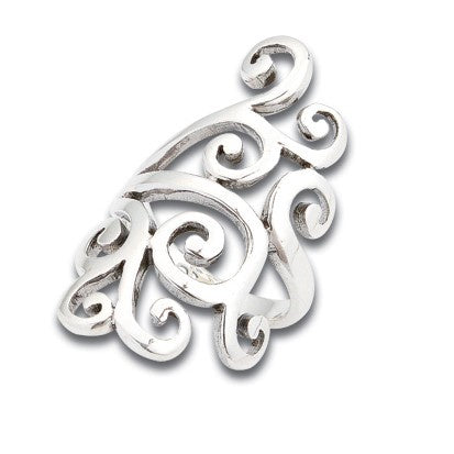 Sterling Silver Kiri Statement Ring