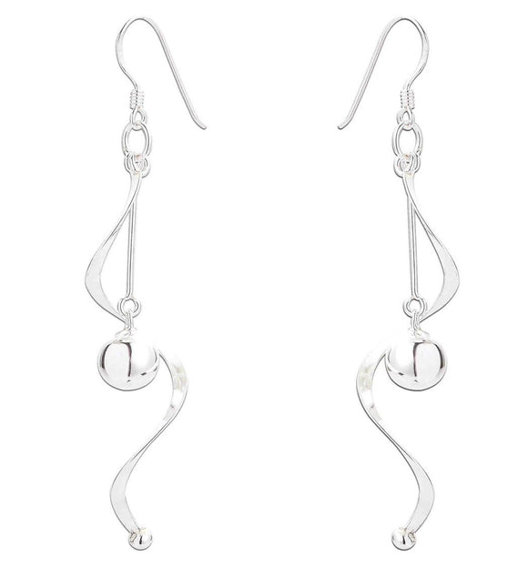 Sterling Silver Nina Drop Earrings