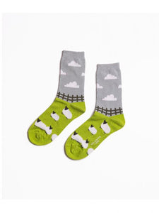 Sheep Meadow Socks Green