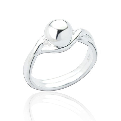 Sterling Silver Valerie Ball Ring
