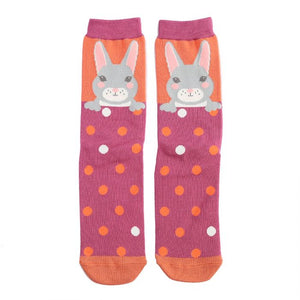 Bunny Socks Orange