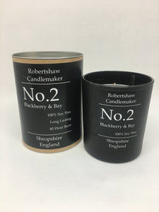 Candle No.2 Blackberry & Bay