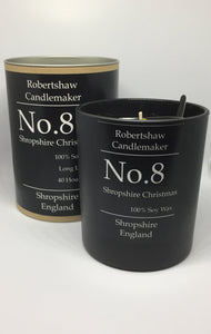 Candle No.8 Shropshire Christmas