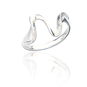 Sterling Silver Kelly Wave Ring