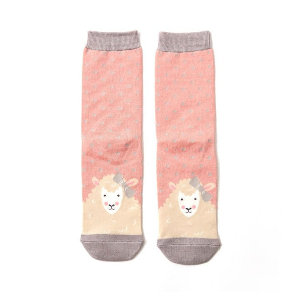 Sheepish Socks Dusky Pink