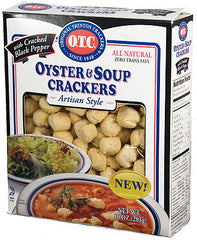 Mini OTC Oyster Crackers - Black Pepper :: 10oz Box