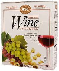 OTC Wine Crackers :: 10oz Box