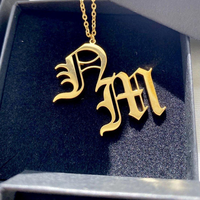 Initials Custom Necklace