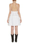 WHITE MARGHERITA SANGALLO DRESS