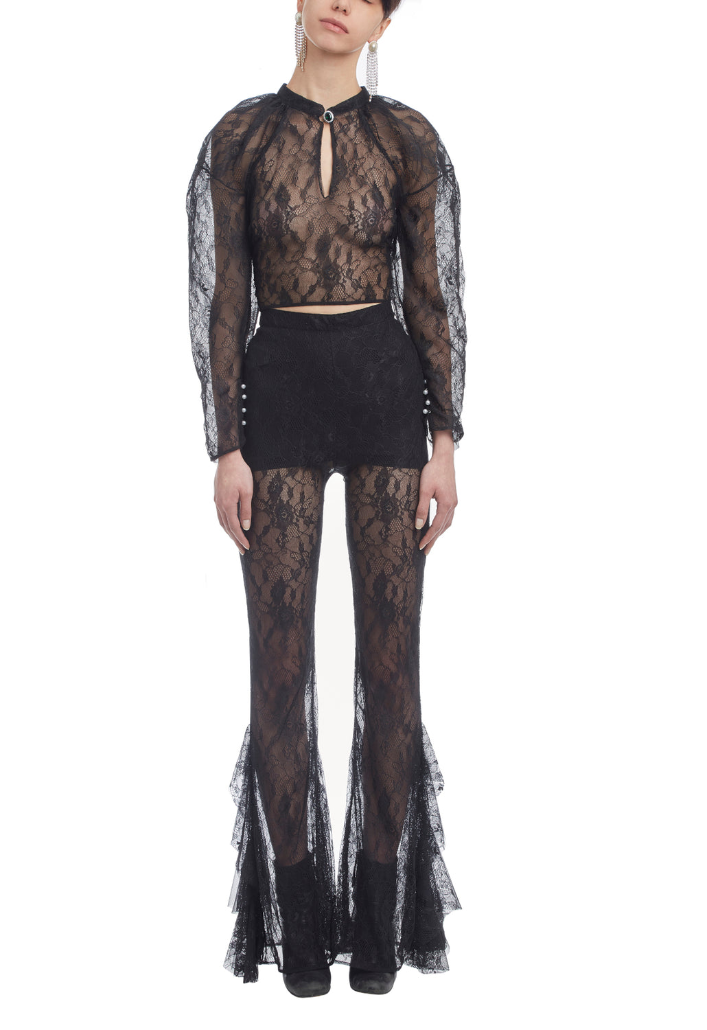 Black Didi Pants Lace
