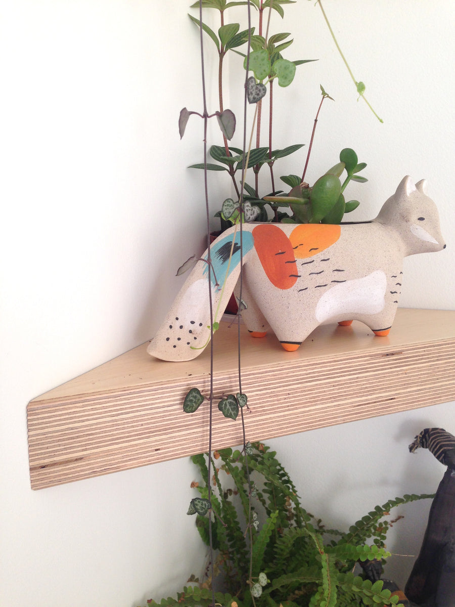 Boomerang Corner Shelf